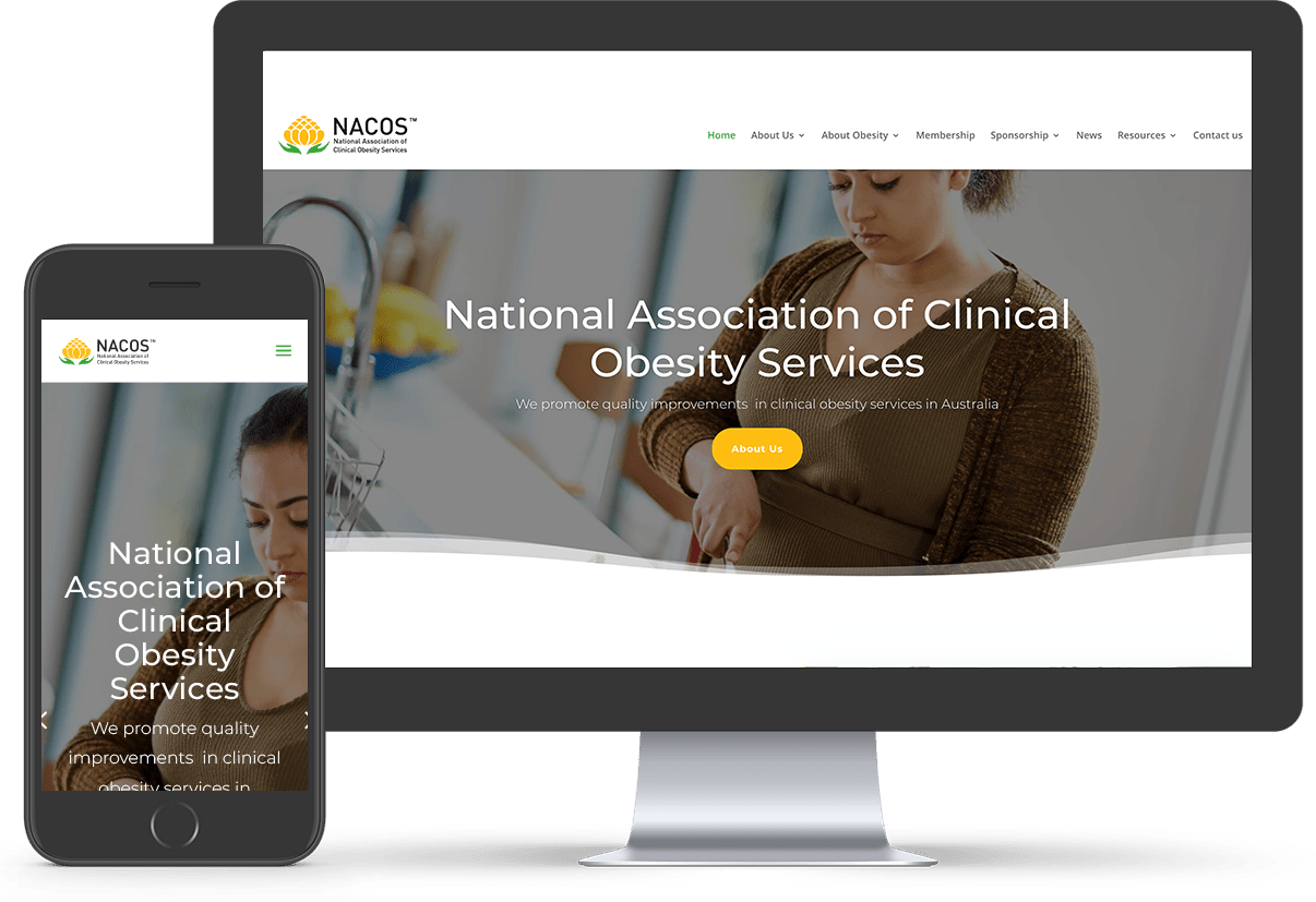 NACOS, our recent website project